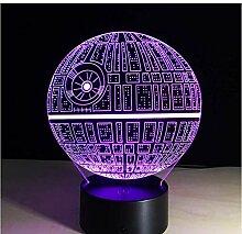 luanxiaonie Optische Täuschung Licht Star Wars