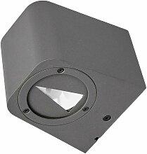 Lucande - LED-Außenwandleuchte Karsten