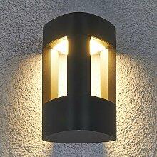 Lucande - LED-Außenwandleuchte Nanna