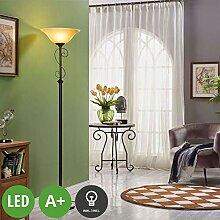 Lucande LED Stehlampe 'Svera' (Landhaus,