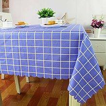 Lucarres PVC-Tischdecke Wasserdichte