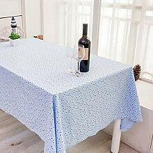 Lucarres Tischdecke, rechteckig, mit Blumenmuster,