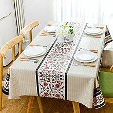 Lucarres Tischdecke, rechteckig, waschbar, für