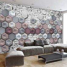 LucaSng 3D Fototapeten Vlies Wandbild - Farbe