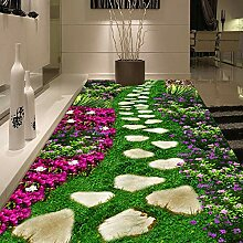 LucaSng 3D Fototapeten Vlies Wandbild - Grün