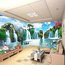 LucaSng 3D Fototapeten Vlies Wandbild - Landschaft