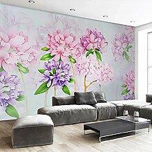 LucaSng 3D Fototapeten Vlies Wandbild - Pink