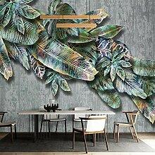 LucaSng 3D Fototapeten Vlies Wandbild - Tropische