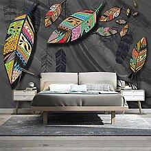 LucaSng 3D TV Hintergrund-Tapeten Wanddekoration -