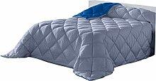 Lucena Cantos - Bettdecke Linie, Faser 400 gr Blau