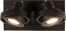 Luci - LED - 2 - Strahler -Schwarz