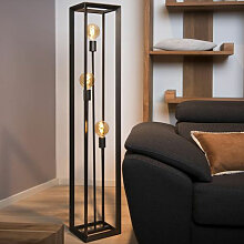 Lucide - Stehleuchte Thor 3xE27 H140cm Metallic