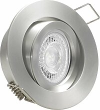 LUCIDO LED 5er Set 7,5W dimmbar 230V GU10 Decken