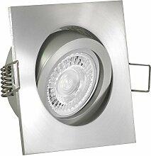 LUCIDO LED 8er Set 7,5W dimmbar 230V GU10 Decken