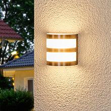 Lucja - LED-Außenwandleuchte mit Streifen