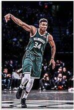 Luck7 Leinwand Druck Poster Basketballspieler