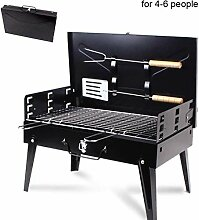 LUCKING Barbecue BBQ Grill-Outdoor Tragbare