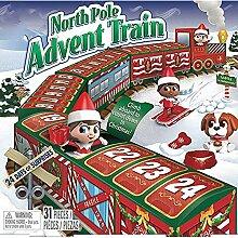 LUCKKY Christmas North Pole Advent Train Advent