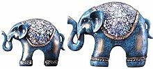 Lucky Elephant Styling Ornamente Skulptur