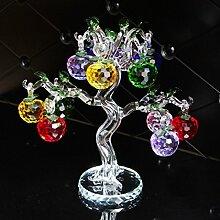 Lucky Kristall Glas Apfelbaum Mit 6 Stücke Von