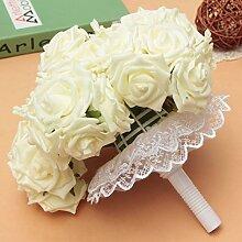 LuckyFine Haarspange 50Foam Rosa Hochzeit