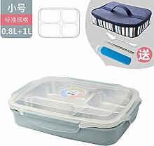 Luckyfree Bento Edelstahl Food Container Lunch Box