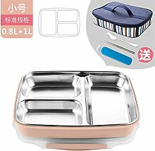 Luckyfree Edelstahl Bento Food Container für