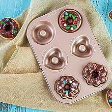 Luckyx 6er Donut-Backblech, Apfelküchlein