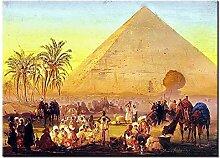 LUCKYYY Diamantstickerei Ägypten Pyramide 5D DIY