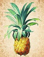 LUCKYYY DIY 5D Ananas Full Diamond Painting