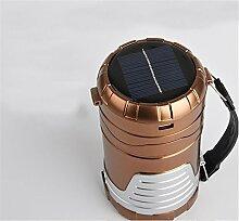 Ludage Solar Zelt Lampe Camping Leuchte USB aufladen Camping Licht tragbare Taschenlampe klein