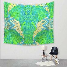 Ludage Wohnteppich Bedruckte Tapete Wand Decke