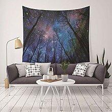Ludage Wohnteppich, Digitaldruck Tapete Wand Decke