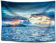 Ludage Wohnteppich, Drucken Tuch Tapete Strandtuch