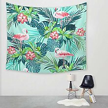 Ludage Wohnteppich Flamingo Druck Tapete Wand