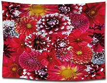 Ludage Wohnteppich, Floralen Drucken Wandteppich