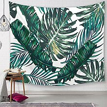 Ludage Wohnteppich Grüne Pflanze Druck Tapete