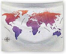 Ludage Wohnteppich, Hintergrund Tuch aus Polyester