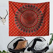 Ludage Wohnteppich Indische Mandala Blume Drucken