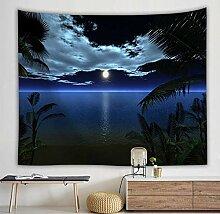 Ludage Wohnteppich, Mond Sternenhimmel Wald