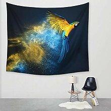 Ludage Wohnteppich Papagei Druck Tapete Wand Decke
