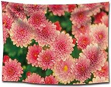 Ludage Wohnteppich, Pflanze Blume Druck Stoff