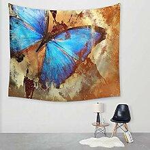 Ludage Wohnteppich Schmetterling Tapeten Wand