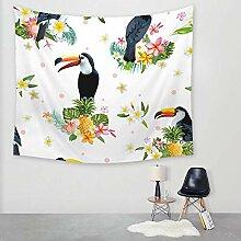 Ludage Wohnteppich Vogel Druck Tapete Wand Decke