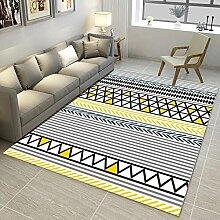 Ludage Wohnzimmer geometrische Muster Baby Matte
