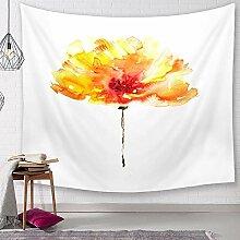 Ludage Zuhause Wandteppiche, Blume Tapete