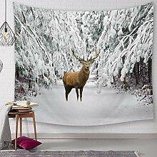 Ludage Zuhause Wandteppiche, Elch Digital