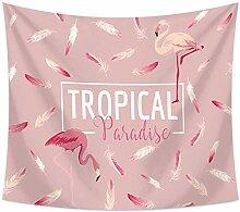 Ludage Zuhause Wandteppiche, Flamingo Tischdecke