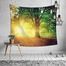 Ludage Zuhause Wandteppiche, Landschaft Wald