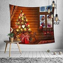 Ludage Zuhause Wandteppiche, Weihnachten